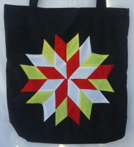 30. Black bag with the four colors
