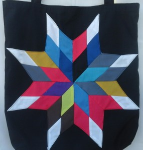 24. Black bag with rainbow star