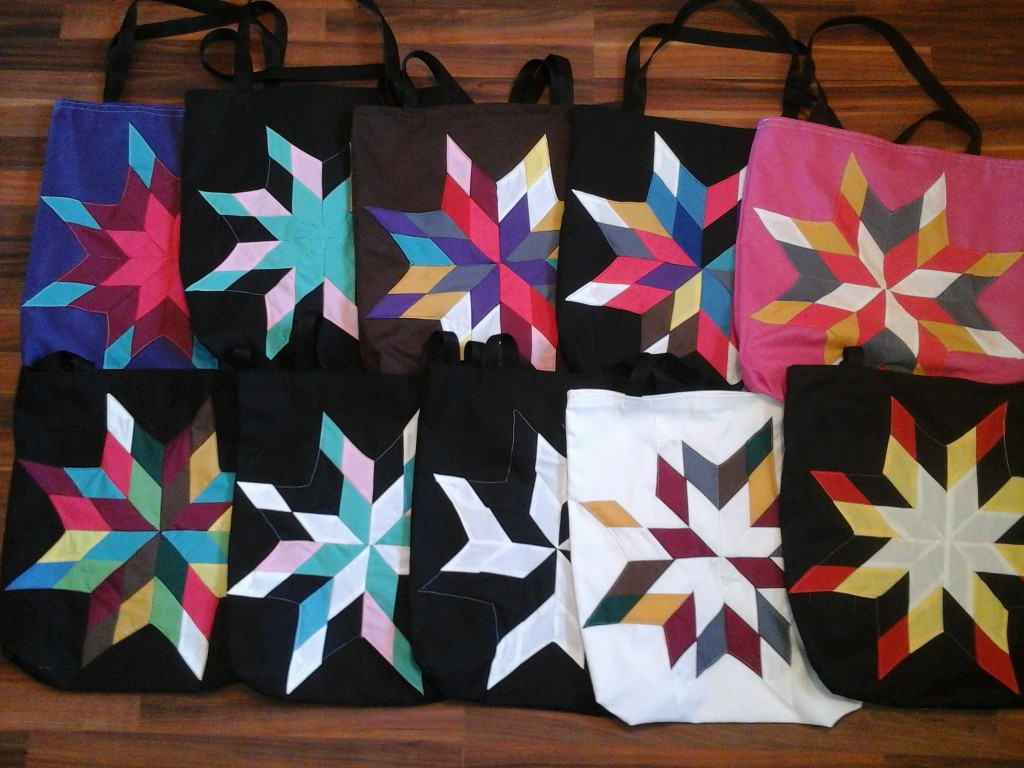 Group picture of Star Bags
