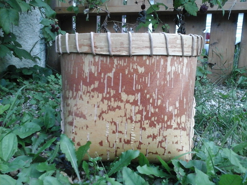 Front View- traditional basket without lid