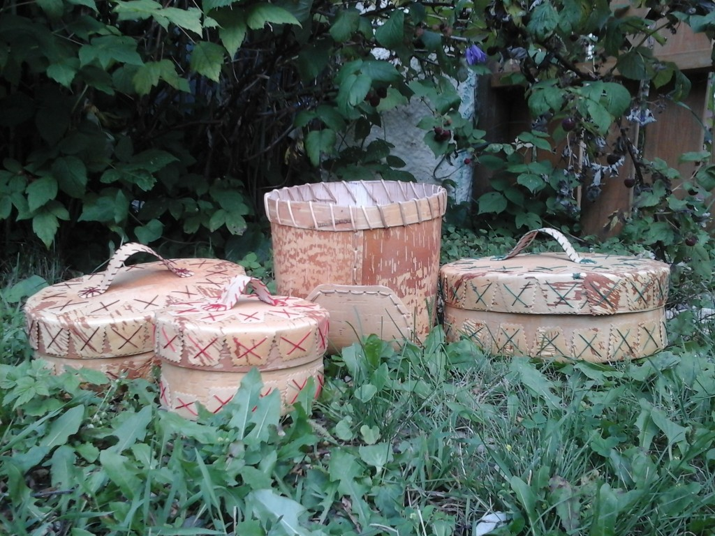 Group pic. of baskets
