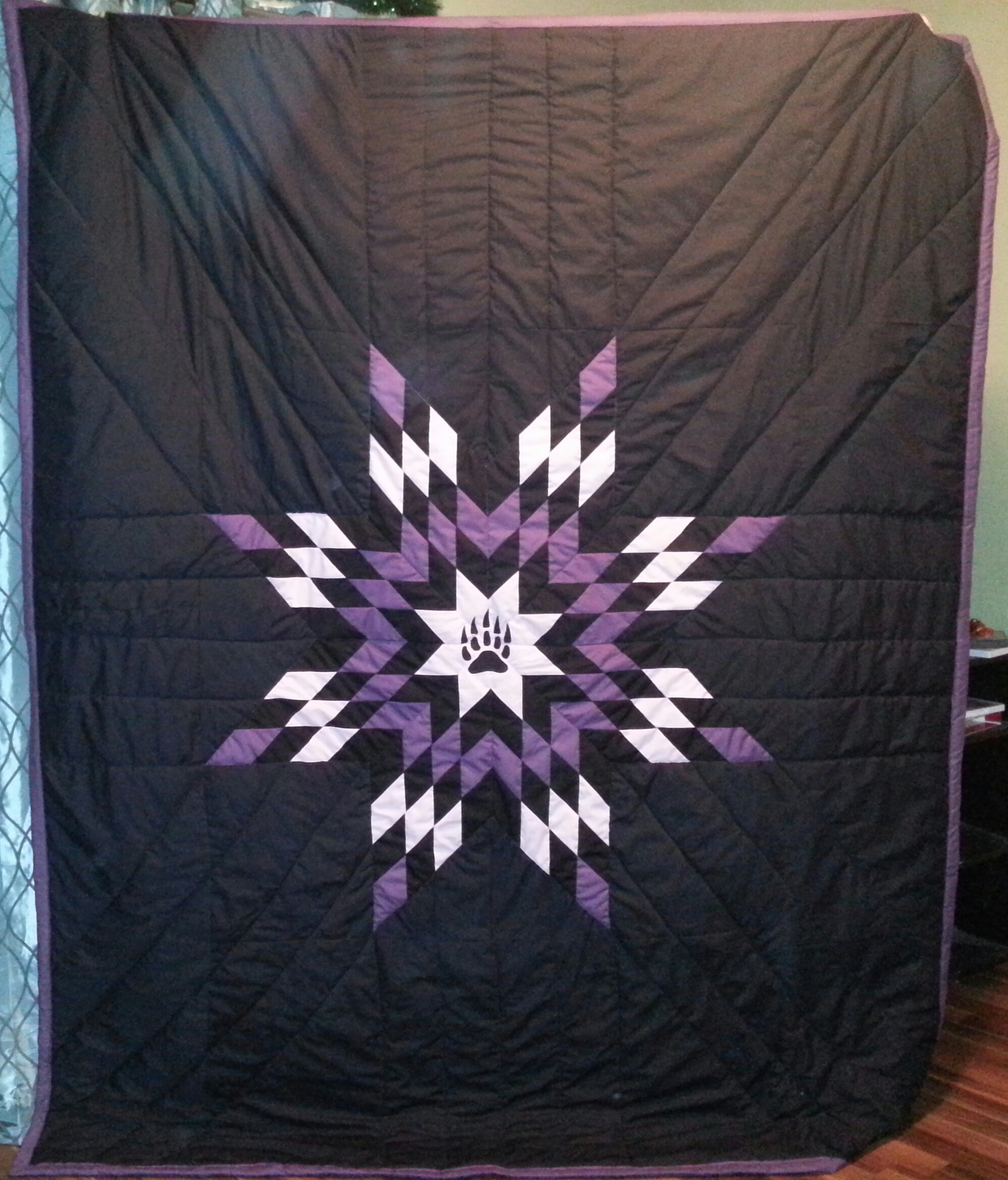 187 Bearpaw Twinblanket1 Cree Star Gifts