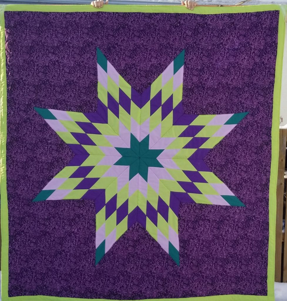 Star Blankets – Queen/Baby Sizes Cree Star Gifts