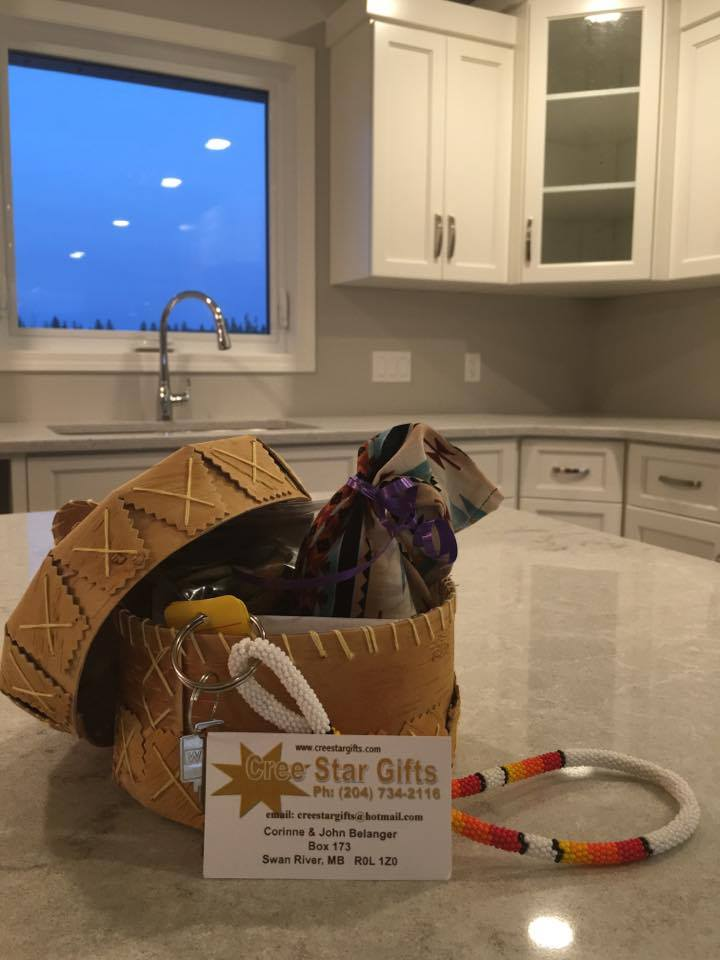 Nicole purchased a Birch Bark Basket/Tea/Keychain to Gift her Client who purchased a house through her.