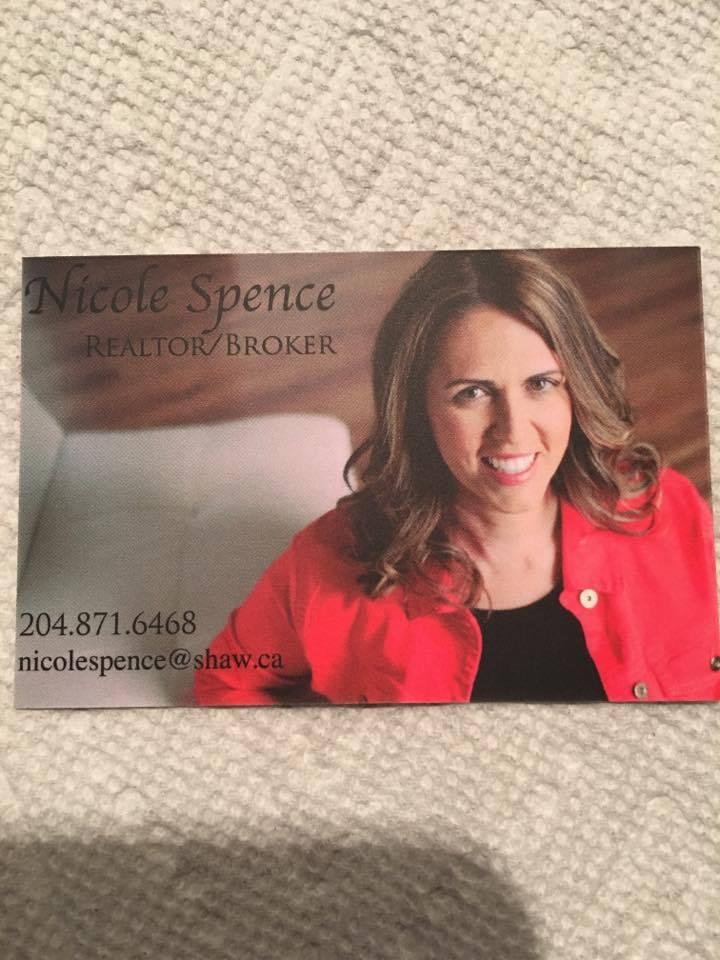 Nicole Spence - Realtor/Broker from Portage La Prairie, MB.