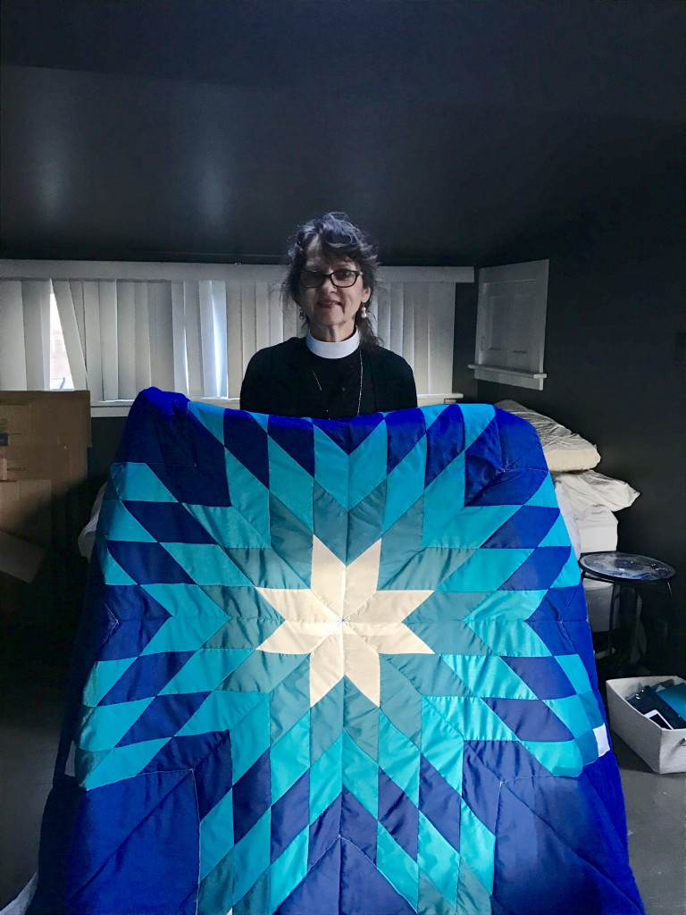 Timi Vann purchased this star blanket for her Pastor's. It is her retirement gift.